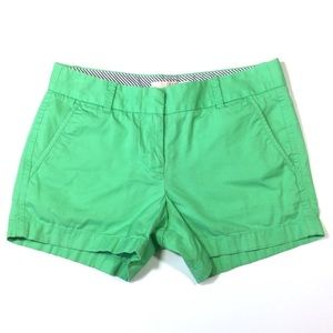 J.Crew Chino Shorts Broken In 100% Cotton